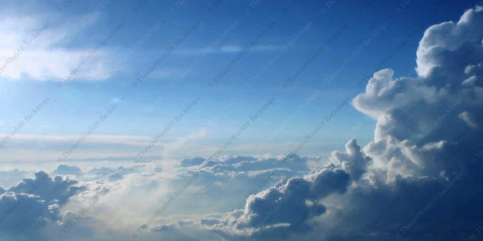 Cumulus Blue Sky