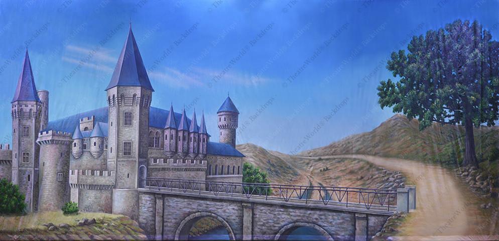 Medieval Castle Exterior