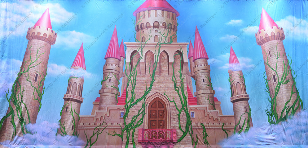 Fantasy Castle Towers