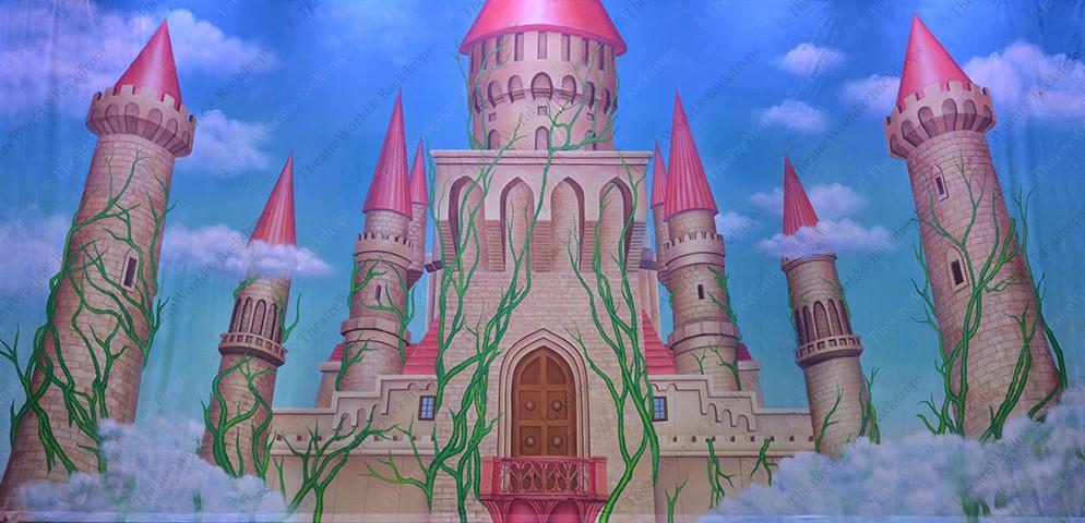 Fantasy Castle Towers