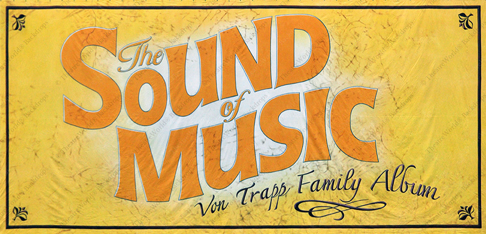 Sound of Music Main Drape