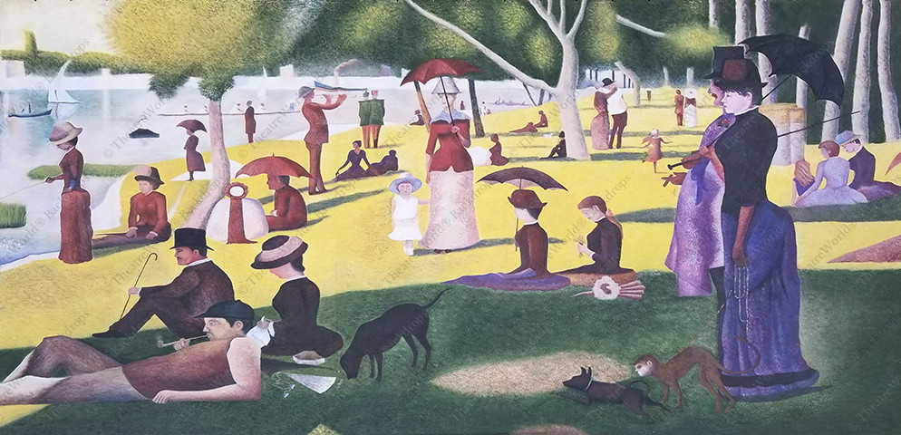 Sunday In The Park With George Main Drape