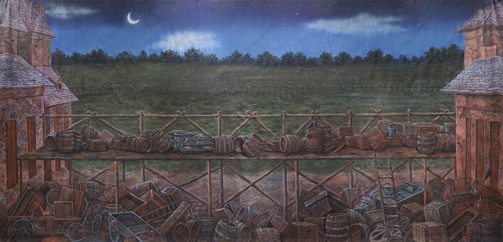 Vintage American Battlefield - B