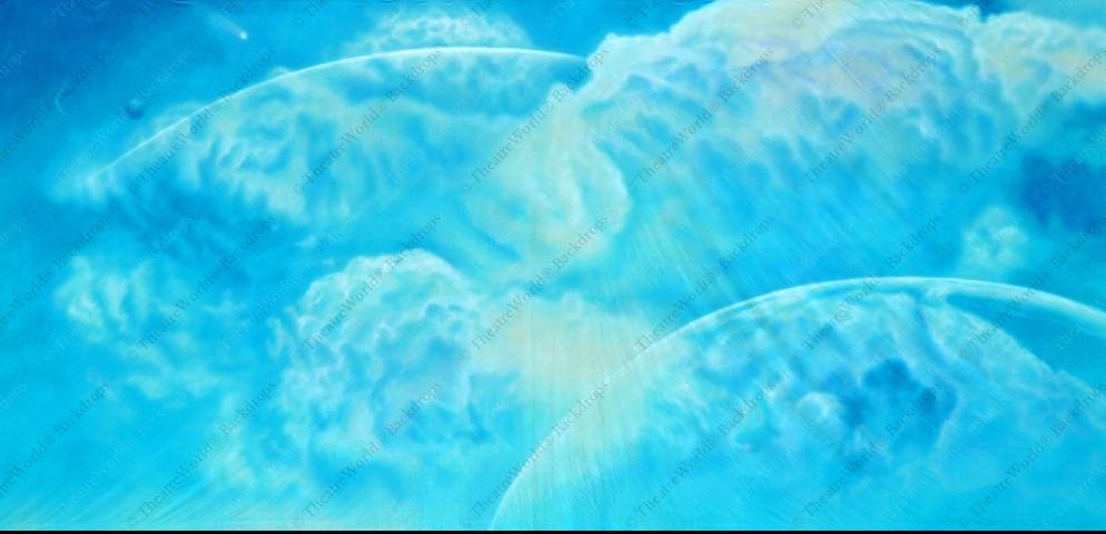 Celestial Blue Sky