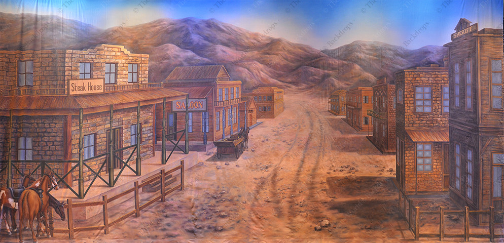 Southwestern Frontier Town