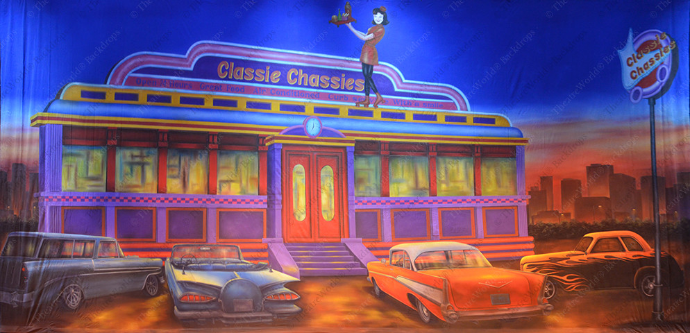 Classie Chassies 50's Diner Ext.
