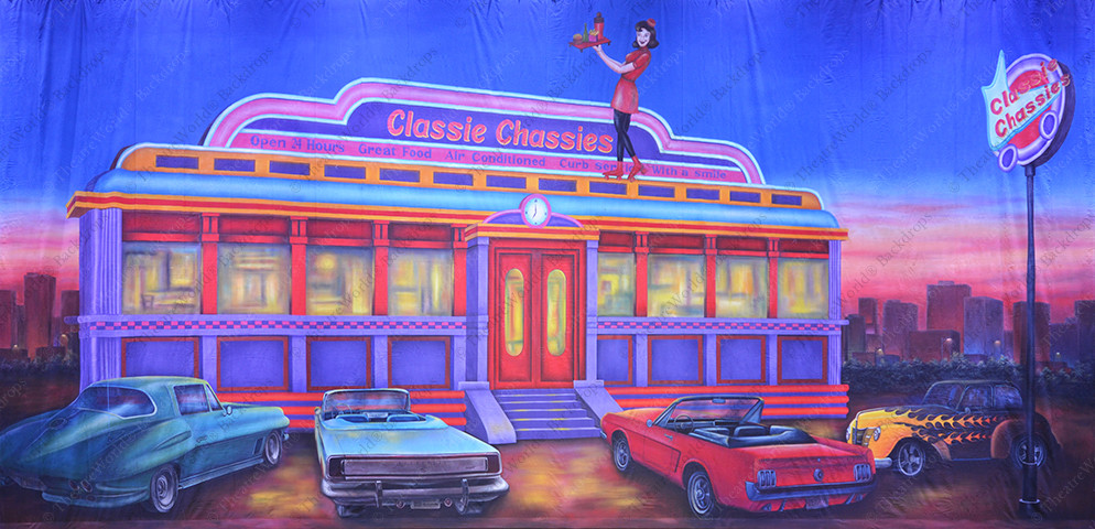 Classie Chassies 60's Diner Ext.