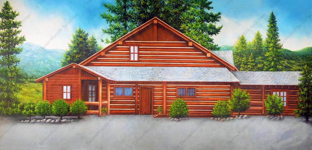 Log Cabin - A