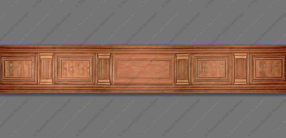 Wood Paneling Header
