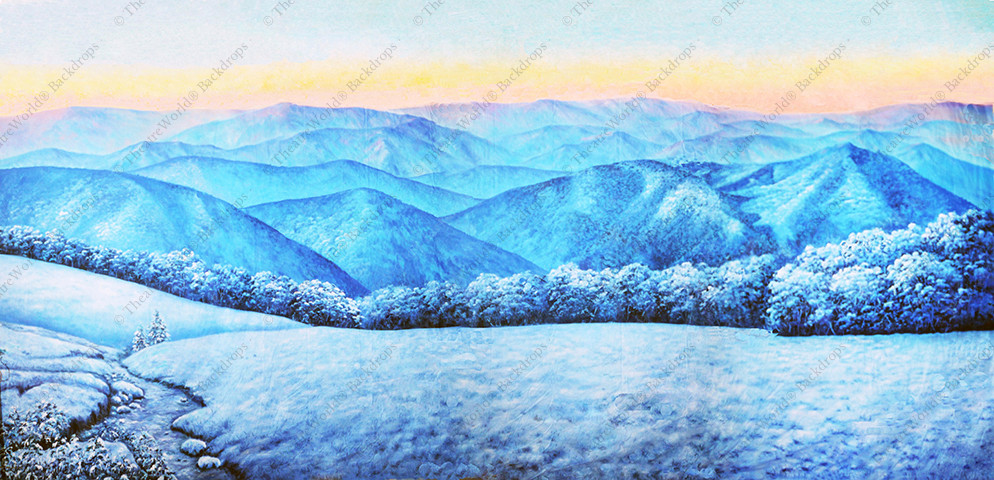 Blue Ridge Mountains Winter