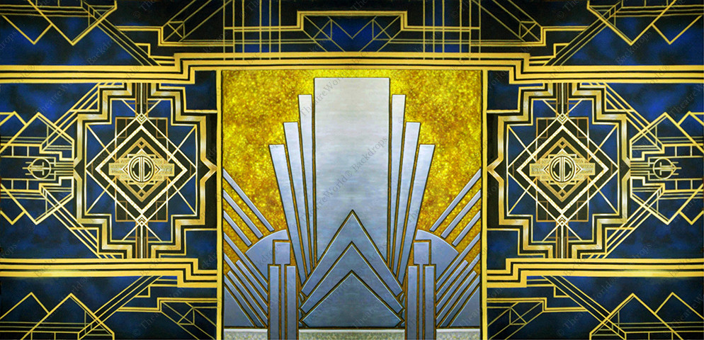 Art Deco Abstract