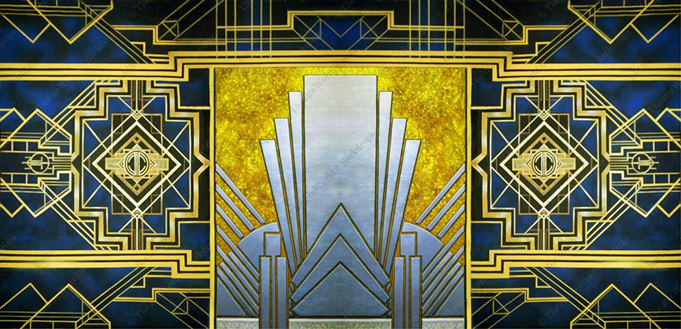 Art Deco Abstract