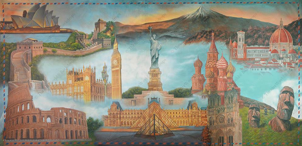 Famous World Landmarks - B