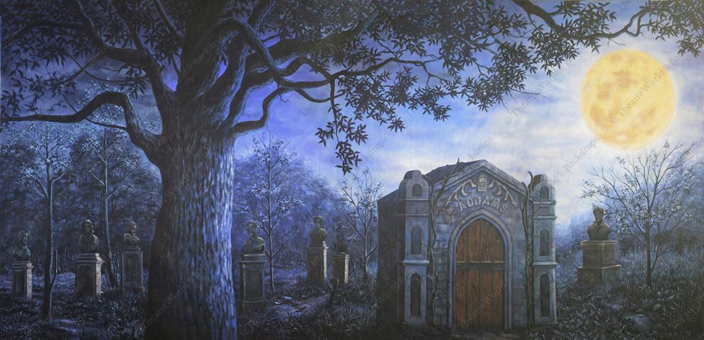 Addams Family Graveyard