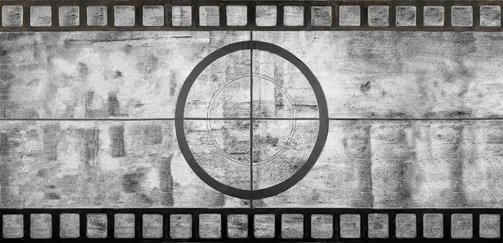 Vintage Film Screen