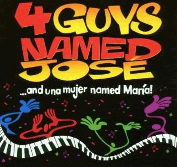 4 Guys Named José... and Una Mujer Named Maria Logo