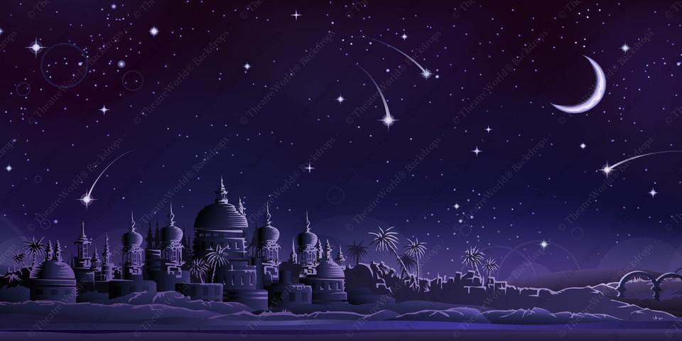 Arabian City - Crescent Moon