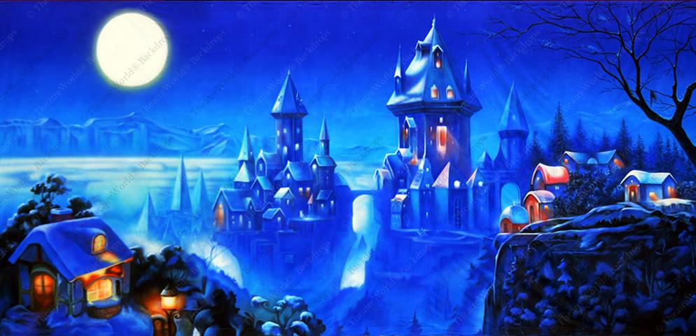 Fantasy Winter Village