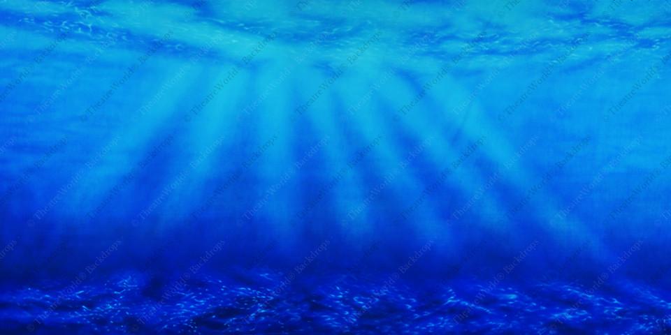 Under The Sea - Azure Blue