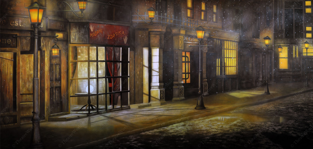 Victorian Street w/Snowdust