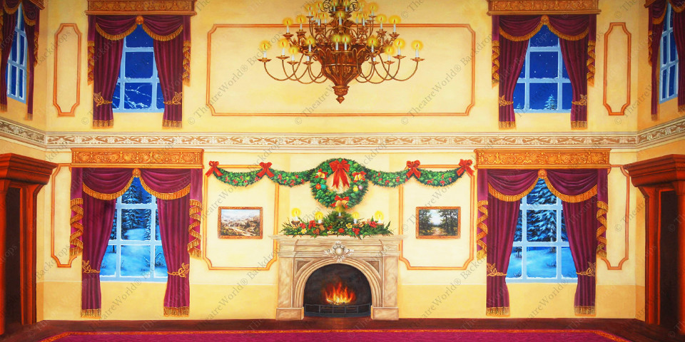 Victorian Parlor Christmas