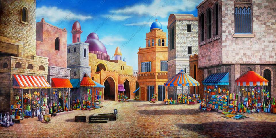 Agrabah Marketplace