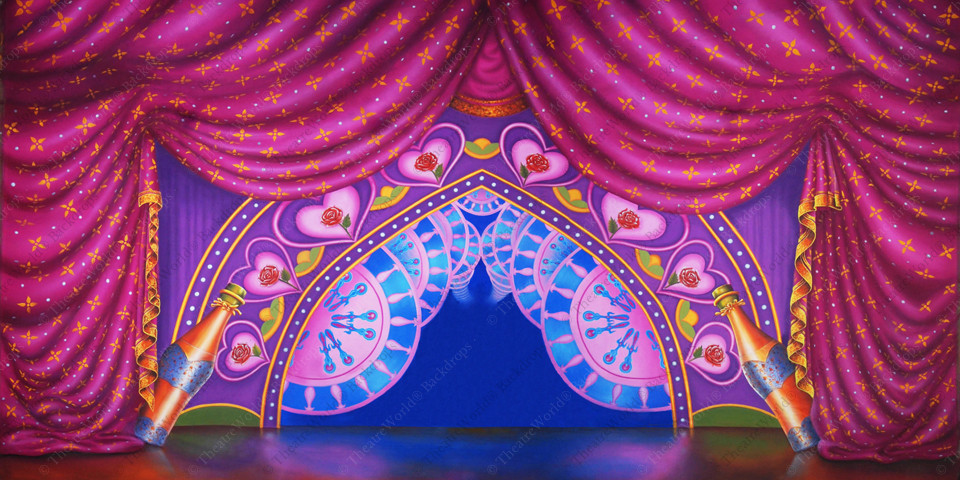 Be Our Guest Celebration Curtain