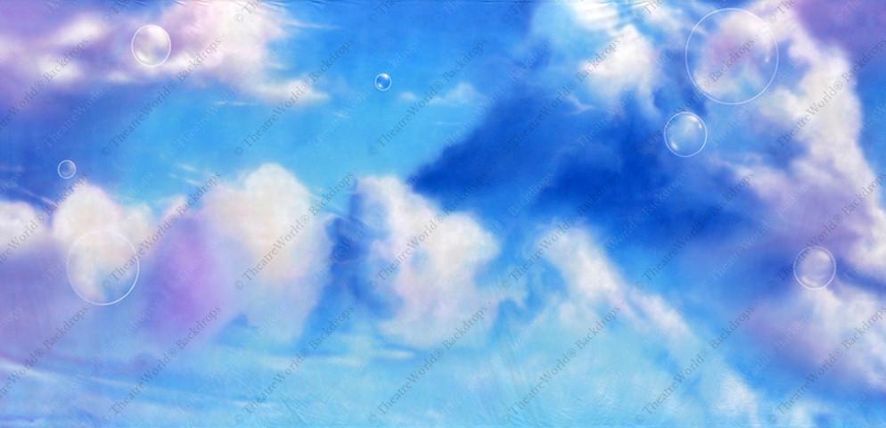 Feathered Fairy Tale Sky