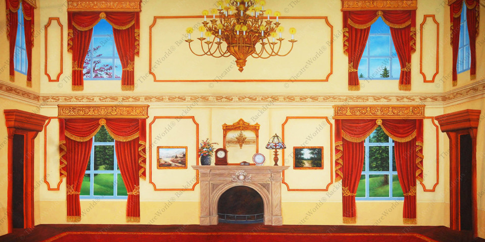Victorian Parlor Summer - A