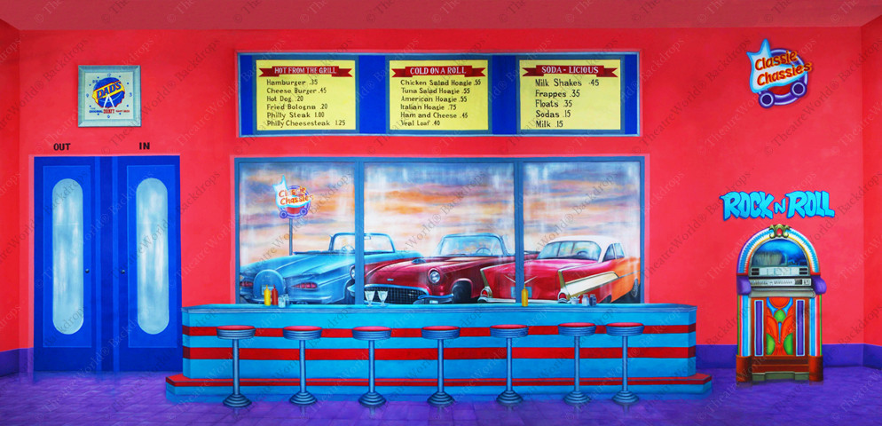 Classie Chassies Diner Interior