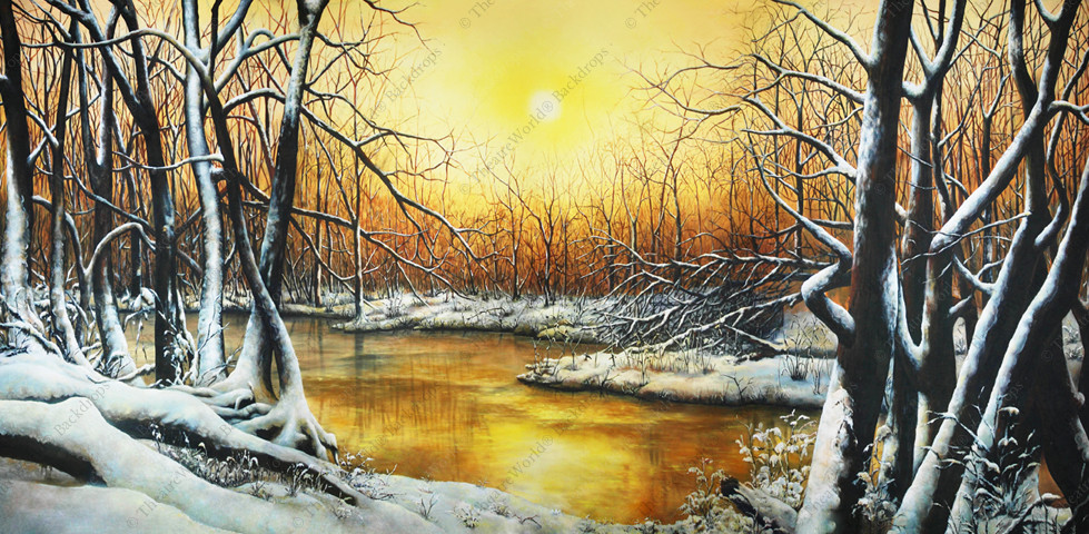 Tranquil Winter Forest