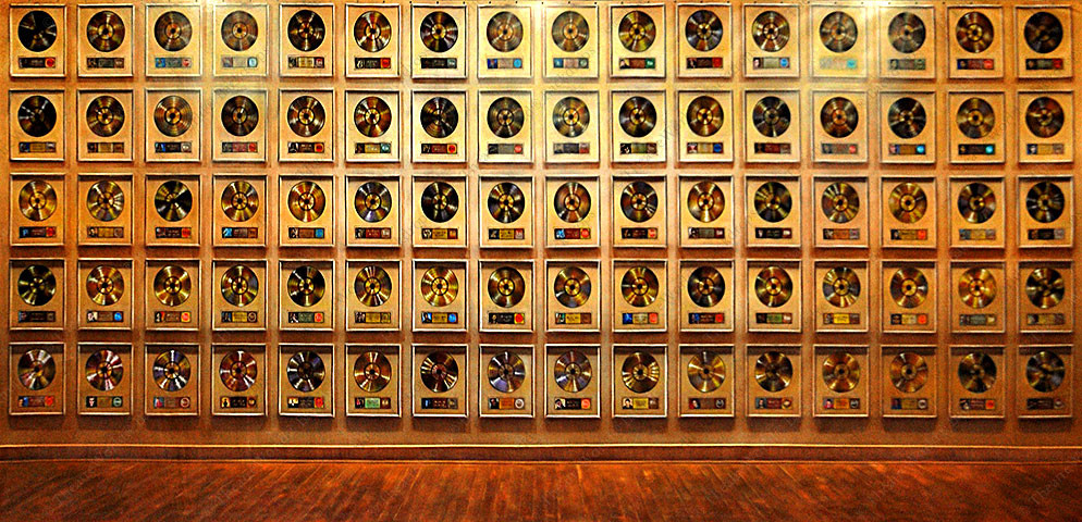 Music Hall Of Fame Wall