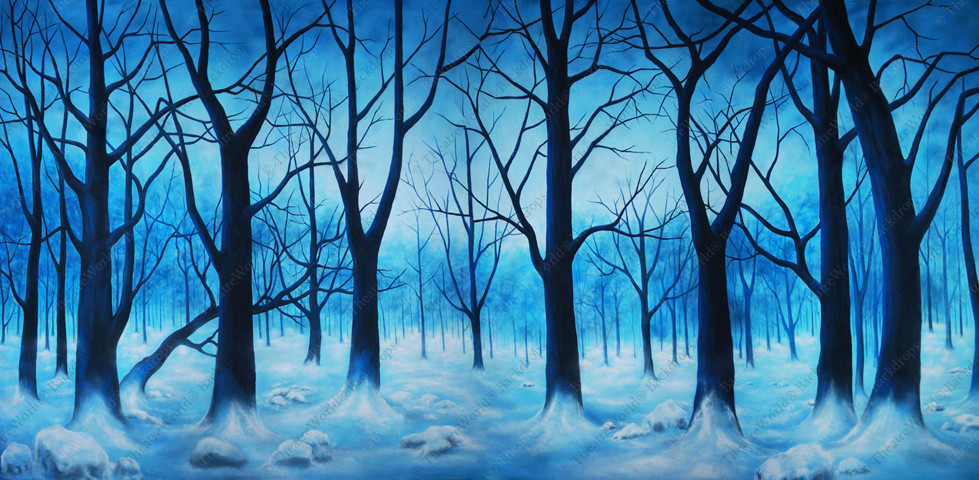Wooded Winter Mist
