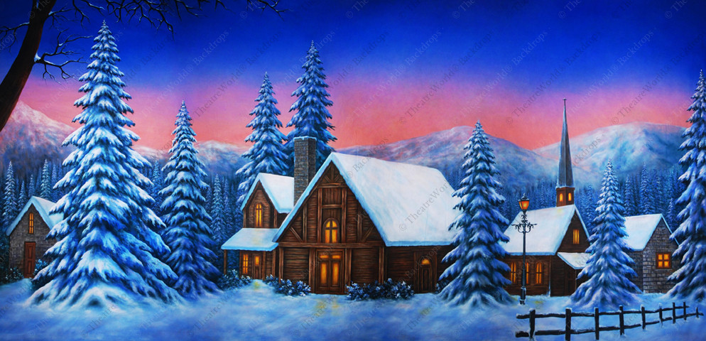 Winter Mountain Retreat