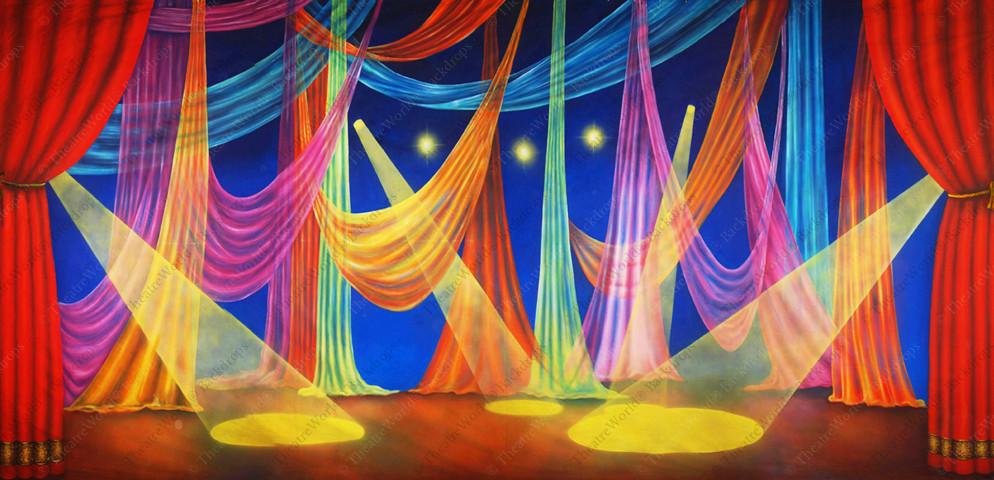 Le Cirque Celebration Drape
