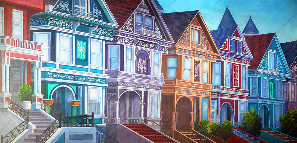 Grand Victorian Row Homes