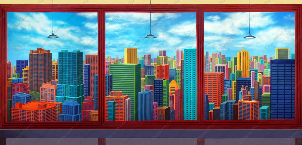 Stylized Office Highrise