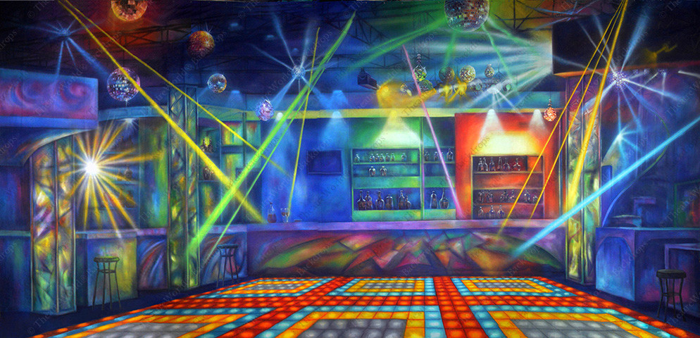 Disco Club Interior