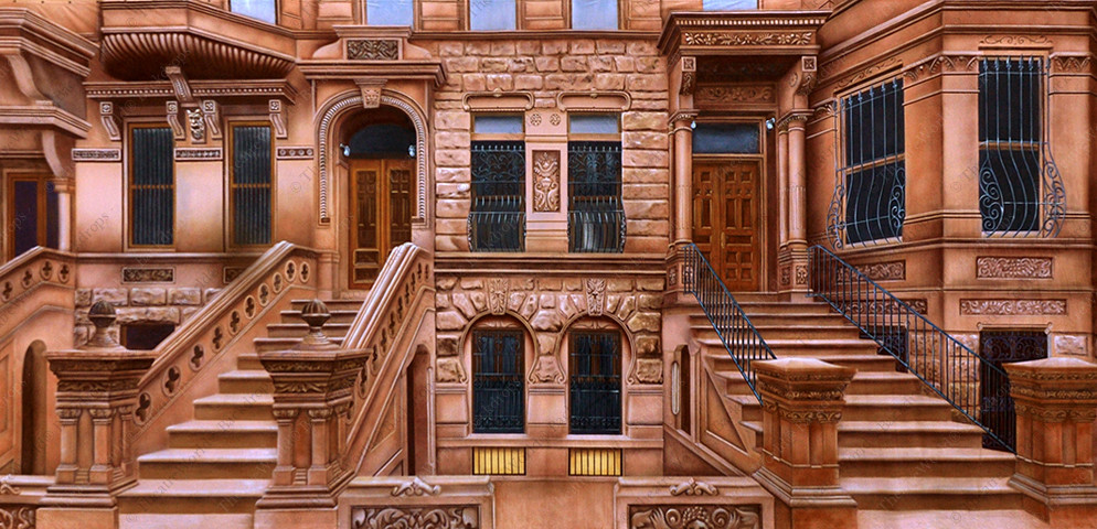 Brownstone Row Home