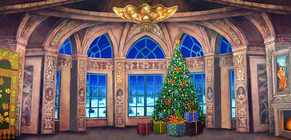 Baroque Christmas Ballroom