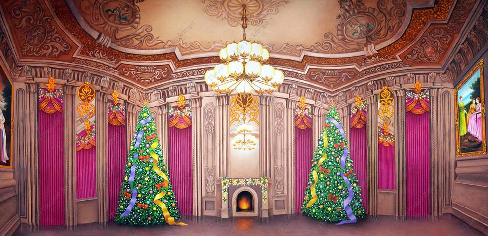 Victorian Palace Christmas Ballroom