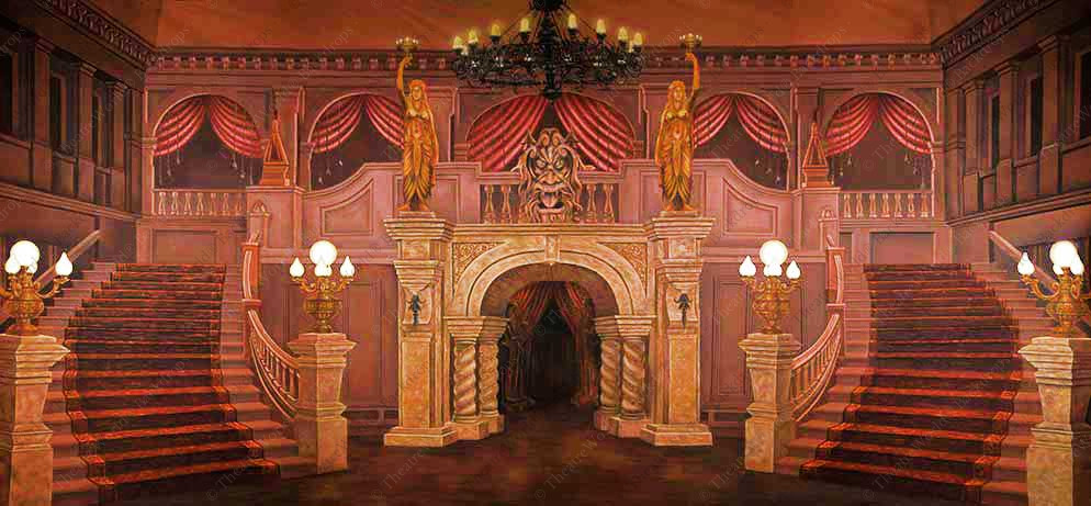 Haunted Mansion Foyer