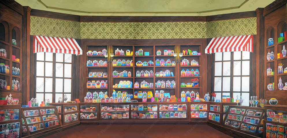 Olde Time Candy Shoppe - B