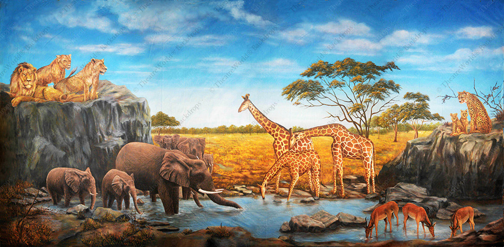 African Safari Hills