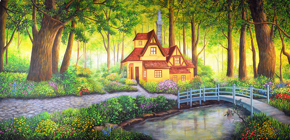 Whimsical Cottage
