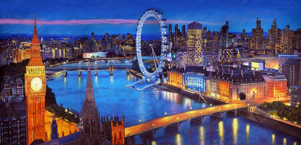 Modern London Flyover