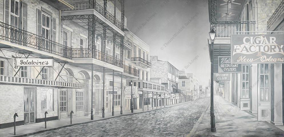 Vintage Bourbon Street