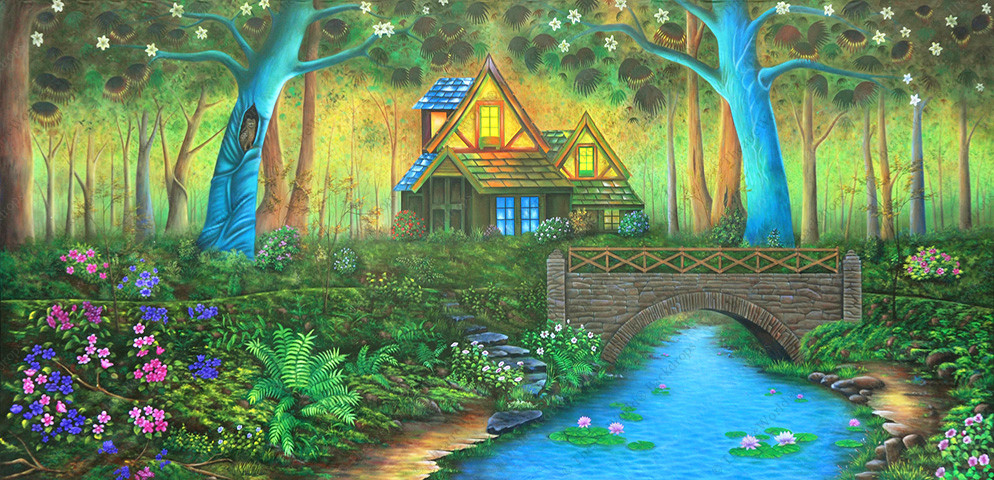 Curious Fantasy Cottage