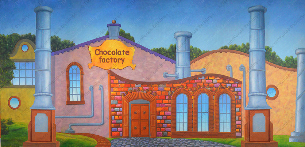 Chocolate Factory Exterior