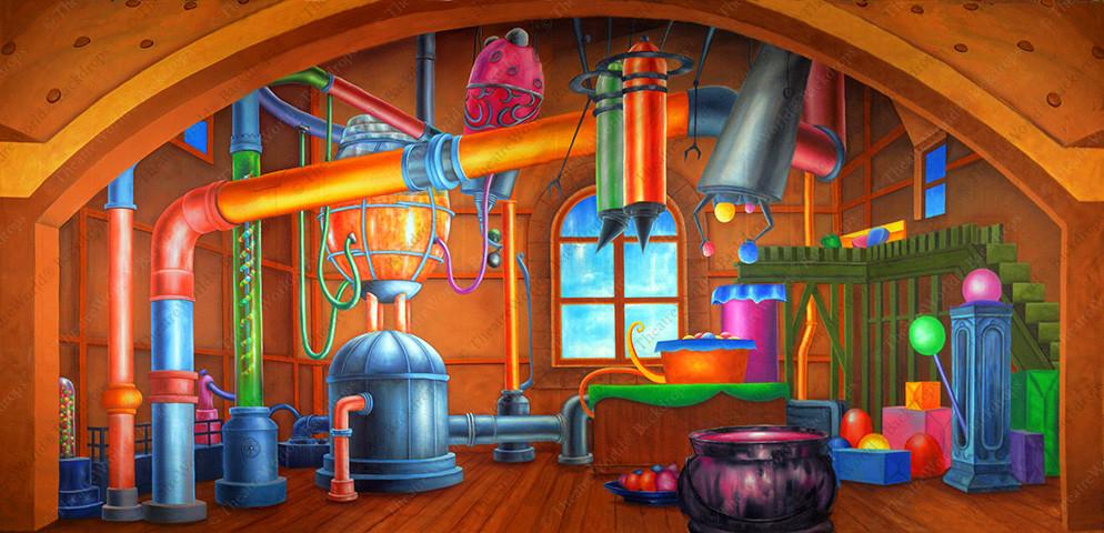 Chocolate Factory Interior